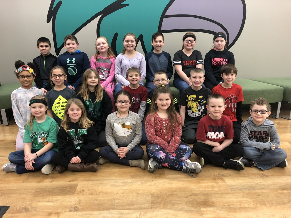 Meridian Elementary School March Students of the Month