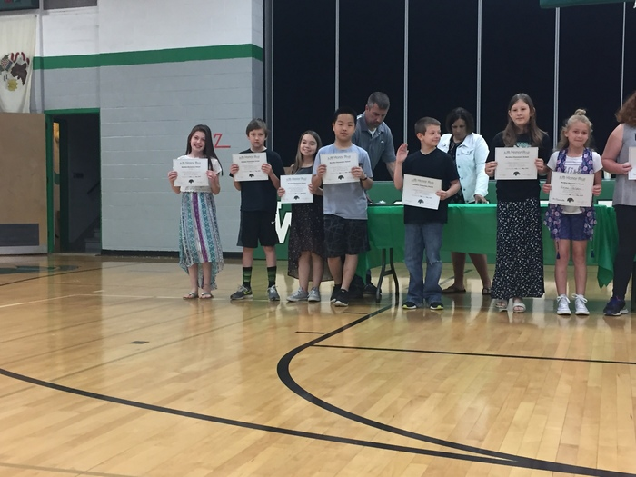 5th A/B honor roll