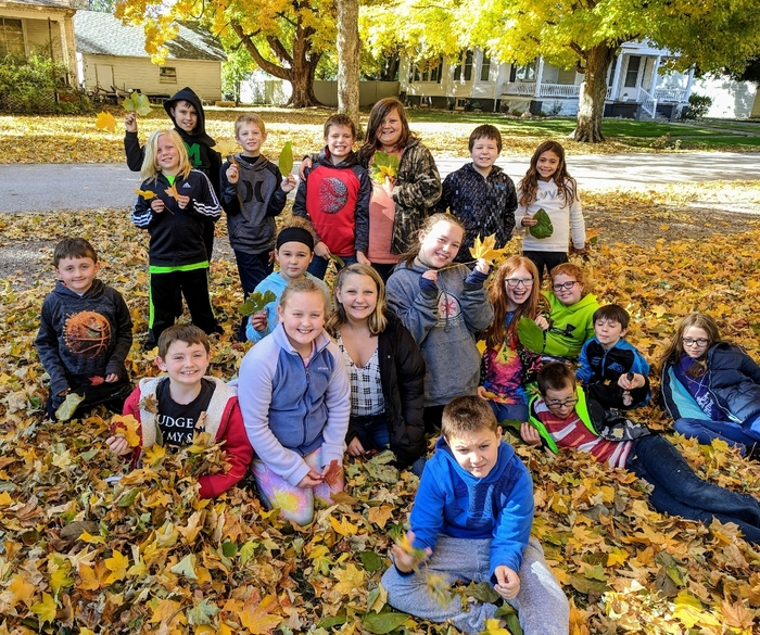 4th Graders love Fall!