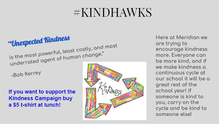 Show your support for unexpected acts of kindness