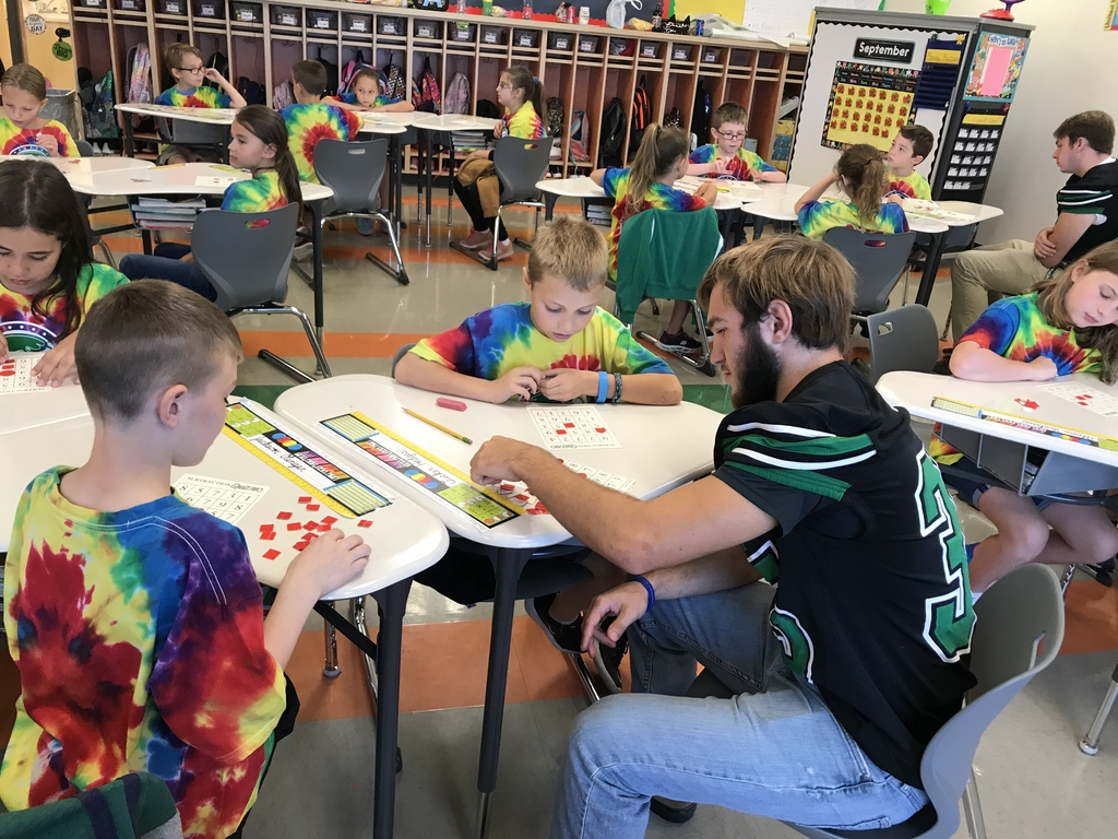 Just a little subtraction bingo before the football game! Go Hawks!
