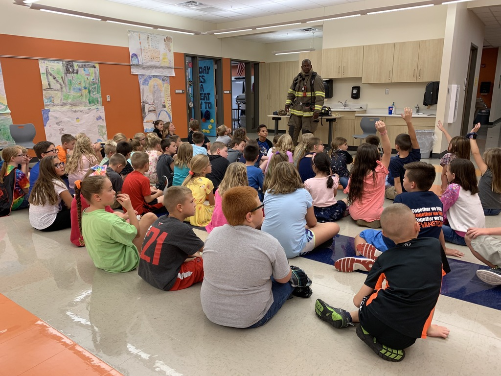 Today, 3rd grade had the pleasure of having Mr. Stevens, a Decatur firefighter, come in and talk with us. He spoke about what a typical day of a fire fighter looks like. In addition, he brought his uniform in to educate the importance each piece serves in protecting him. It was a great way to prepare us for our fire safety talk happening later this week!