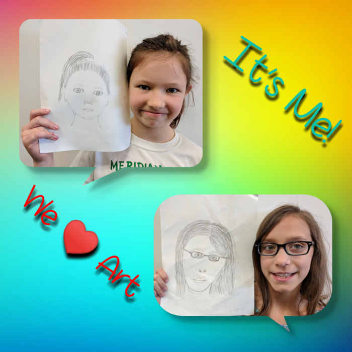 4th grade portraits